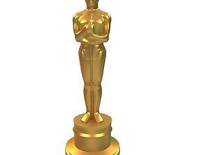 Oscar 3D print model