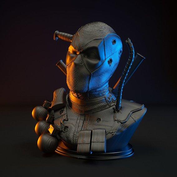 Deadpool Bust