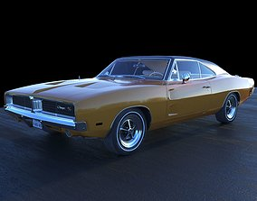 3D challenger Dodge 1970