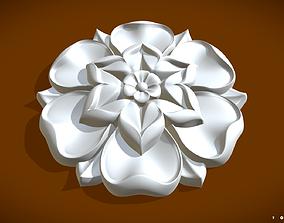 Flower 2 3D print model architectural