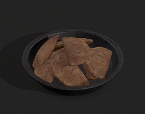 3D asset Pastry in bowl