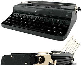 3D model realtime Typewriter