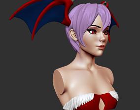 Bust - Lilith Aensland 3D printable model bust