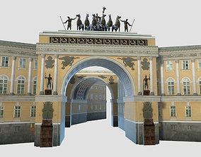 General Staff Building - Palace Square - Saint 3D model