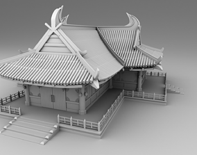 3D printable model Chinese traditional house19
