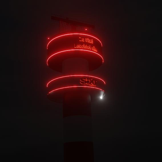 A Cool Radar Tower