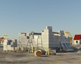 repair 3D model Construction site