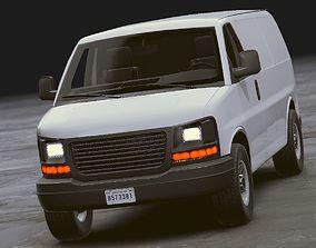 Realistic Van 3D model
