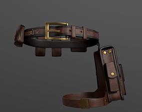 3D model Bags set