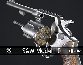 PBR Smith and Wesson Model 10 realtime
