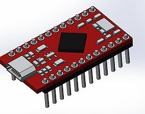 3D printable model Arduino pro micro