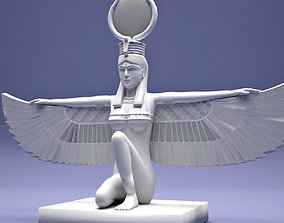 3D print model Egyptian Isis With Wings