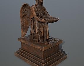 Angel Statue 3D asset
