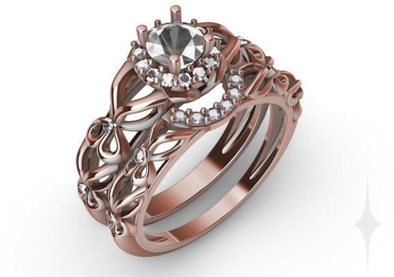 Ring engagement butterfly