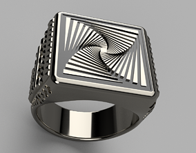 jewelry 3D printable model Spiral Ring