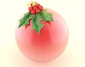 holiday 3D model christmas ball