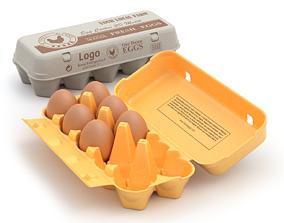 Rigged Egg Box 3D
