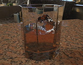 beverage 3D Whiskey Tumbler
