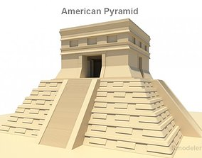 American pyramid 3D