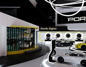 Porsche showroom 3D