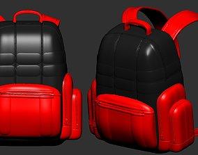 backpack high poly sculpt 3d printable ver 7 3D model 3D