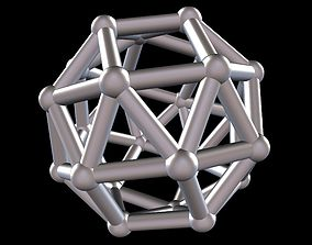 3D print model 035 Mathart - Archimedean Solids - Snub 4