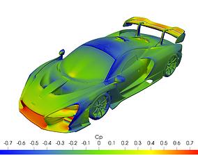 Mclaren Senna solid for CFD or 3D printing 3D model 3D 1