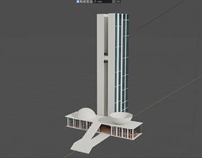 Brazilian Congress 3D model