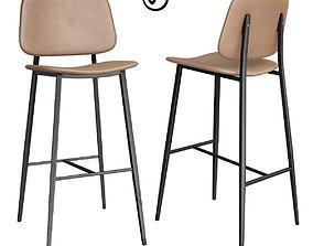 Bar stool - Vita Luce 3D model