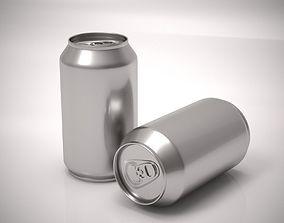 Aluminum soda can 3D model