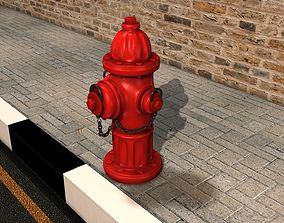 Fire Hydrant 3d model town
