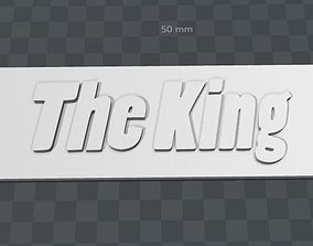 3D printable model Plate-The King