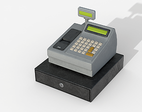 Cash Machine 3D asset realtime