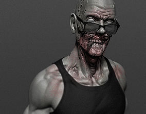 Cool Zombie 3D printable model