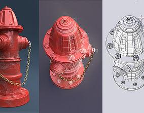 Fire Hydrant 3D model firefighter