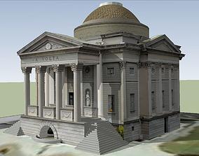 Tempio Voltiano 3D model