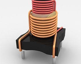 3D coil element