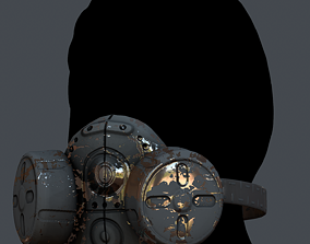 Gas low-poly 44