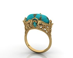 printable Beautiful Ring 3D printable model