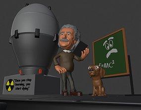Albert Einstein 3D Printing