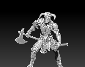 Barbarian - Lothar 35 mm scale - 3D print model