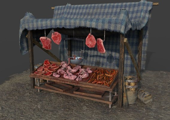 Medieval Meat Tent