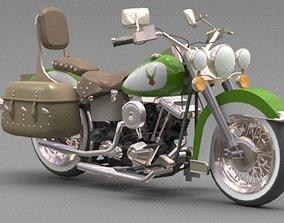 wheel motorcycle 3D