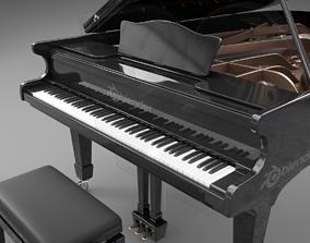 3D model Grand piano classical