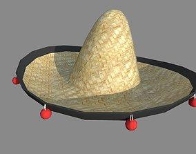 Sombrero 3D model realtime scientific