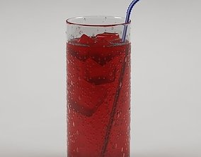 Drink 02 Soda with cherry syrup 3D