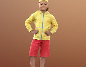 3D model Zachary 10046 - Standing Child