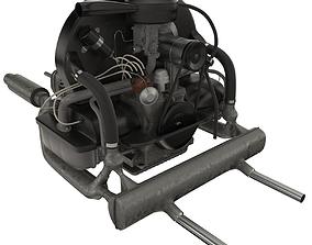 3D Engine Volkswagen Beetle