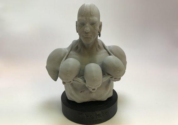 Dhalsim Bust 3D Print