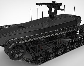 3D Tracked vehicle 3